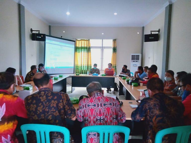 Rapat Koordinasi Tindak Lanjut Penyaluran BLT DD di Kabupaten Sanggau Tahun 2020