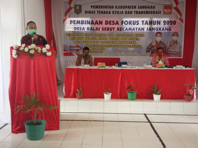 Pemkab Sanggau Lakukan Pembinaan Desa Fokus di Desa Balai Sebut