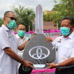Serah Terima Dan Launching Tiga Unit Kendaraan Roda Empat Penanganan Covid-19 Oleh Bupati Sanggau