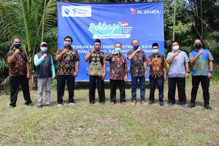 Balai Energi Listrik Tenaga Surya Diresmikan, Wabup Sanggau: Kepada Masyarakat Dusun Sebongkup Untuk Dapat Memanfaatkan Fasilitas Ini Dengan Baik
