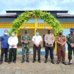 Bupati Sanggau Resmikan Tempat Wudhu Dan Toilet Masjid Hidayatusshalihin Setompak Kelurahan Bunut