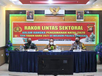 Rakor Dalam Rangka Pengamanan Natal 2020 dan Tahun Baru 2021, Ini Pesan Wakil Bupati Sanggau
