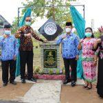 Aula Sehati Forum Sabang Merah Diresmikan, Wabup Sanggau: Berharap Aula Ini Berguna Bagi Pembinaan Dan Pengembangan Dalam Kepentingan Sosial