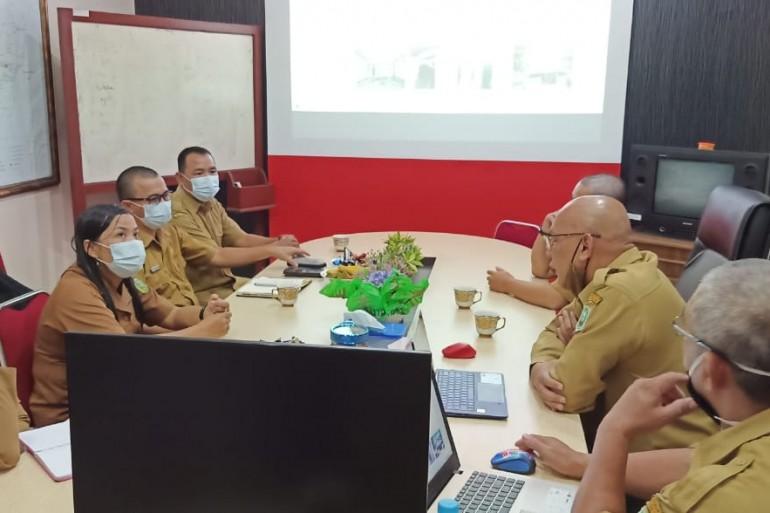 Kunjungan Bappeda Bengkayang ke Kantor Bappeda Kabupaten Sanggau