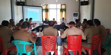 Rapat Koordinasi Pemantapan Persiapan Pelaksanaan Pilkades Serentak di Kabupaten Sanggau tahun 2020