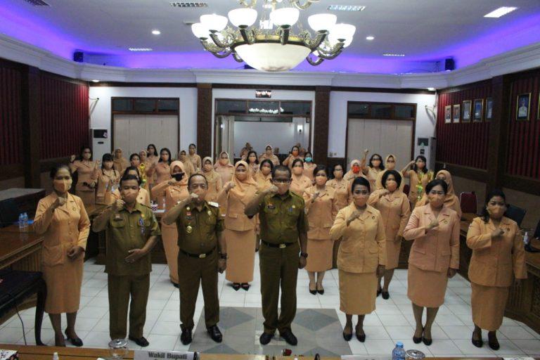 Peringati HUT DWP ke-21, DWP Sanggau Wujudkan Ketahanan Keluarga Indonesia