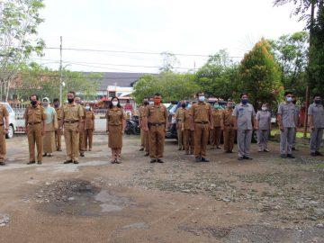 Apel Perdana Dinas Kominfo Kabupaten Sanggau Di Awal Tahun 2021