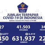 Angka Kesembuhan Kumulatif Terus Bertambah Menjadi 631.937 Orang - Berita Terkini