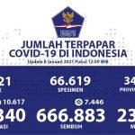 Pasien Sembuh COVID-19 Meningkat Menjadi 666.883 Orang - Berita Terkini