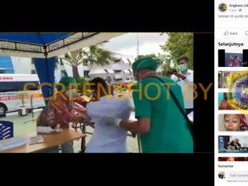"""[SALAH] Video """"Setelah disuntik vaksin pingsan tak sadarkan diri"""" - Berita Terkini"""