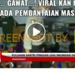 [SALAH] Video Puluhan Santri Pingsan Setelah Vaksin Covid-19 Sinovac - Berita Terkini