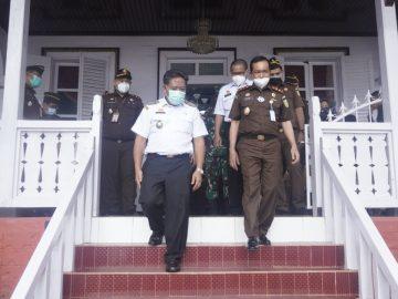 Bupati Sanggau Ucapkan Selamat Datang Kepada Kepala Kejati Kalbar Di Kabupaten Sanggau