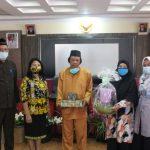 Pelepasan purna tugas Kasubbag Umum dan Kepegawaian Bappeda Kabupaten Sanggau