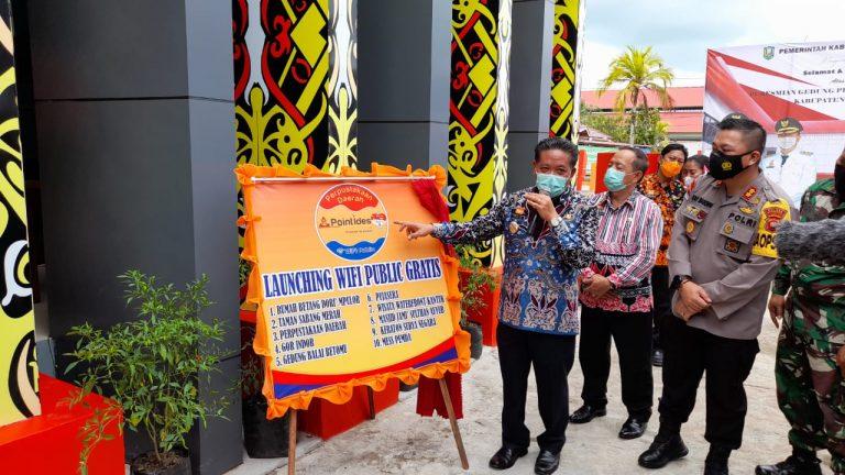 Peresmian Gedung Perpustakaan Daerah Kabupaten Sanggau