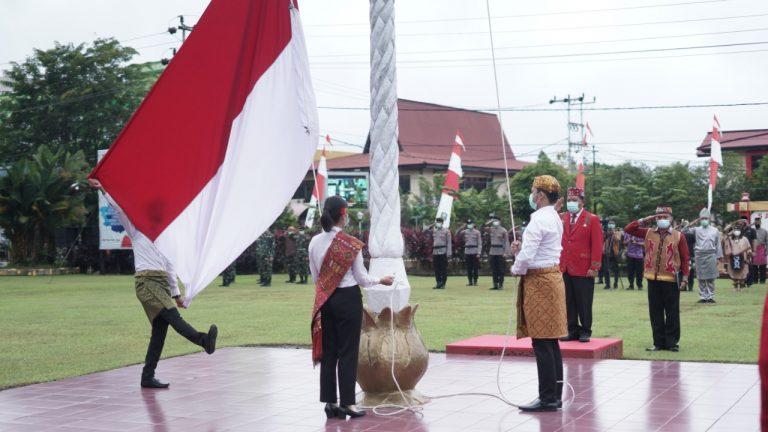 Pemkab Sanggau Gelar Upacara Peringatan HUT Ke-64 Pemprov Kalbar