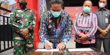 Perpustakaan Daerah Resmi Difungsikan, Bupati Sanggau Menghimbau Kepada Masyarakat Agar Manfaatkan Fasilitas Ini Dengan Baik