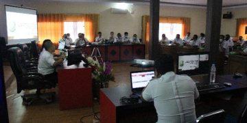 Bappeda Kabupaten sanggau melaksanakan Rapat dalam rangka persiapan pelaksanaan kegiatan Musrenbang RKPD Kabupaten Sanggau Tahun 2022