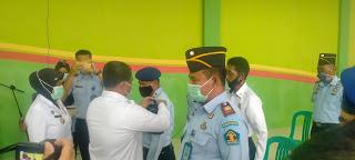 Lakukan Kunjungan Kerja Kepala Kantor Wilayah Kemenkumham Kalimantan Barat Sekaligus Megukuhkan Tim SATOPS PATNAL di Rutan Sanggau