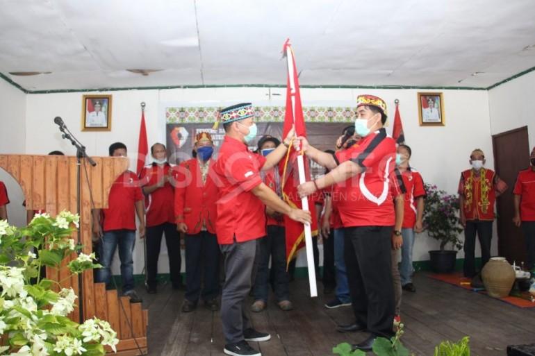 Pengukuhan Pengurus Dewan Pimpinan Cabang Pemuda Dayak Kab. Sanggau (PDKS) Kec. Kembayan
