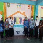 Launching Pusat Pembelajaran Keluarga (PUSPAGA) Sama Duli Anak Kabupaten Sanggau