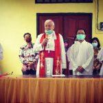 Uskup Sanggau Resmikan Gereja yang ke-992
