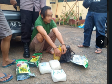 Tim gabungan amankan tiga kilogram sabu dari Malaysia