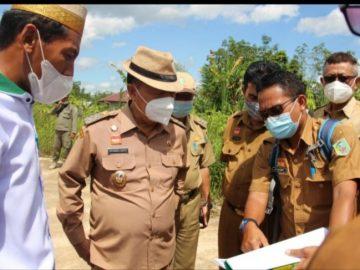 Wabup Sanggau tinjau persiapan MTQ pada 2 kecamatan