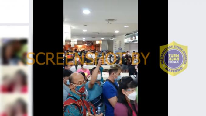 """[SALAH] Video """"Vaksinasi di.mall T.Anggrek"""" - Berita Terkini"""