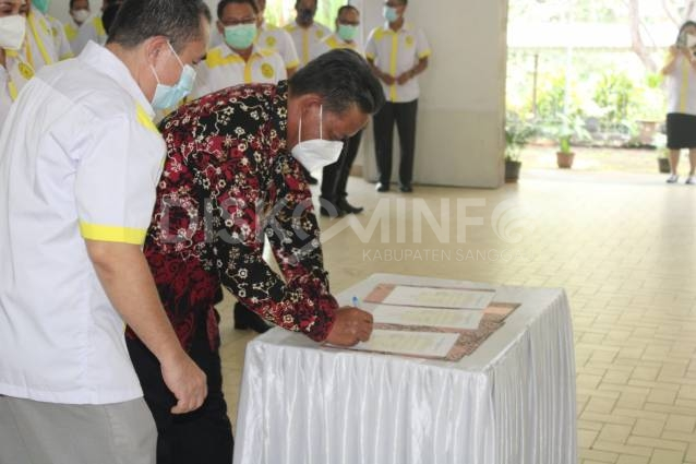 Bupati Sanggau Hadiri Pengukuhan Pengurus DPD ISKA dan DPC Tiga Kabupaten