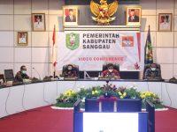 Bappeda Kabupaten Sanggau menggelar Konsultasi Publik Rancangan Awal Perubahan RPJMD Tahun 2019 – 2024 dan Rancangan Awal RKPD Tahun 2022
