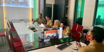 Dinas Perkebunan dan Peternakan mengikuti Musrenbang secara Virtual