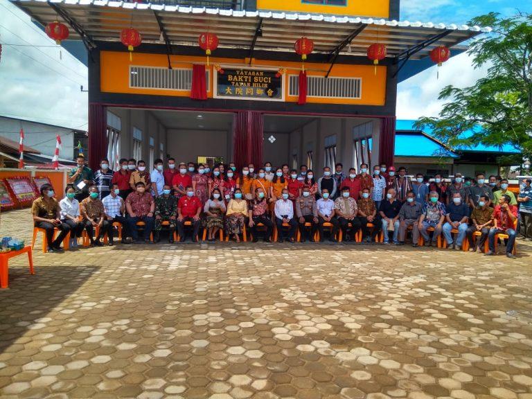 Resmikan Sekretariat Yayasan Bakti Suci Pulau Tayan, Wabup Sanggau Berikan Apresiasi