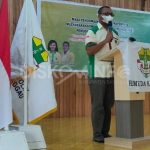 Hubertus V Wake Terpilih Kembali Menahkodai Komcab Pemuda Katolik Sanggau Periode 2021-2024