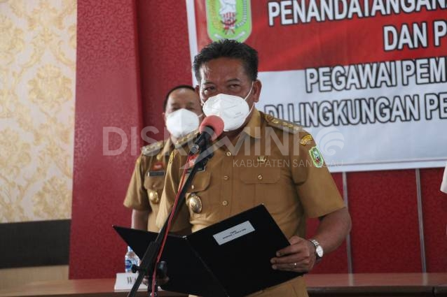 Pengambilan Sumpah/Janji PPPK Sebanyak 31 Orang, Ini Pesan Bupati Sanggau