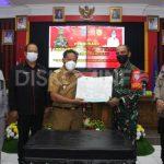 Buka TMMD Imbangan ke-110, Bupati Sanggau Minta Pastisipasi Dan Dukungan Dari Masyarakat