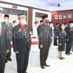Sebanyak 14 Pejabat Pimpinan Tinggi Pratama, 94 Pejabat Administrator dan 252 Pejabat Pengawas Dikukuhkan/Dilantik Bupati Sanggau