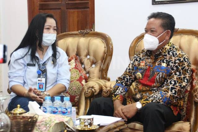 Bupati Sanggau Dipilih Sebagai Informan Ahli Mewakili Pemprov Kalbar Di Tingkat Nasional Terkait Keterbukaan Informasi
