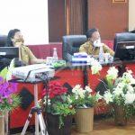 Bupati Sanggau Pimpin Rapat Evaluasi Indikator KLA Tahun 2021 Di Kabupaten Sanggau