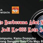 Lomba Foto Berbusana Adat Nusantara Hari Jadi Ke-405 Kota Sanggau