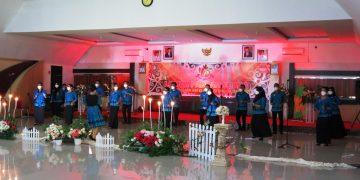 Meriahkan Hari Jadi Kota Sanggau Ke-405, Dinas Perkebunan dan Peternakan Kabupaten Sanggau ikuti Lomba Paduan Suara