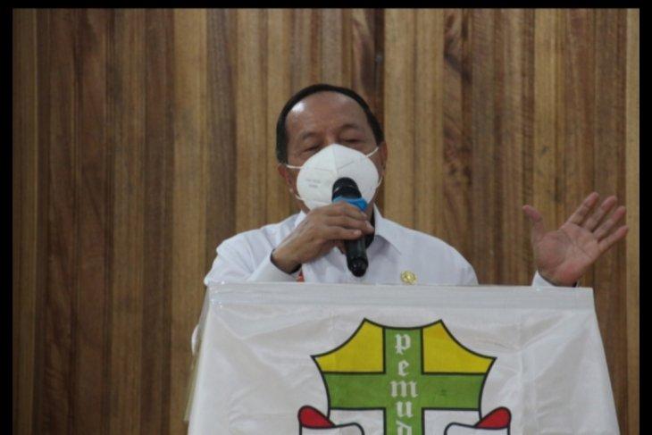 Wabup Sanggau pesankan ini saat buka Muskomcab Pemuda Katolik Sanggau