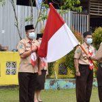 Upacara Pelantikan Pengurus Mabi dan Pengurus Saka Pariwisata Cabang Sanggau