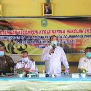 Hadiri Pertemuan K3S, Ini Pesan Wabup Sanggau