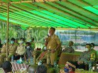 Bupati Sanggau Berharap Masyarakat Hormati Temenggung Adat
