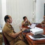 Dinas Kominfo Sanggau Laksanakan Rapat Evaluasi Kinerja Triwulan I