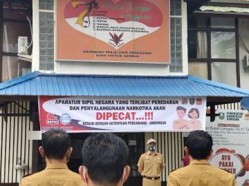 Aparatur Sipil Negara yang Terlibat Peredaran dan Penyalahgunaan Narkotika akan di PECAT. -