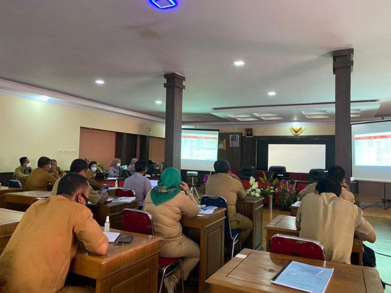 Bappeda Kabupaten Sanggau gelar Focus Group Discussion Penyusunan Rancangan Akhir Perubahan RPJMD Kabupaten Sanggau Tahun 2019 – 2024