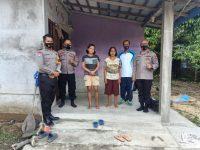 Kapolres Sanggau berikan tali asih kepada warga menderita Atresia Bilier
