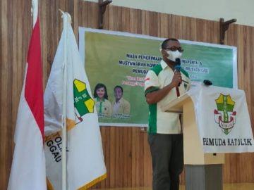 Ketua Pemuda Katolik KOMCAB Sanggau Ajak Masyarakat Katolik Beribadah Seperti Biasa