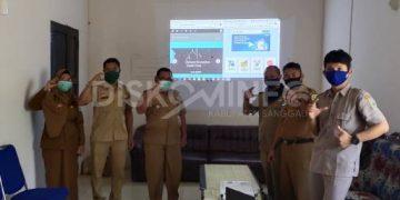 Sosialisasi dan Serah Terima Pengelolaan Website PPID Kecamatan Tayan Hilir